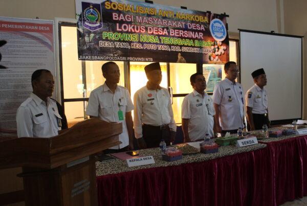 Deklarasi Desa BERSINAR :Desa Poto Tano Siap Sebagai Desa BERSINAR (Bersih Narkoba)
