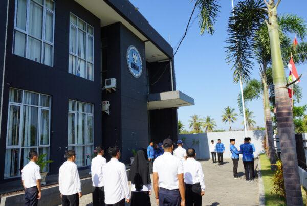 Upacara Bendera Memperingati Hari Pahlawan Tahun 2019 di BNNK Sumbawa Barat