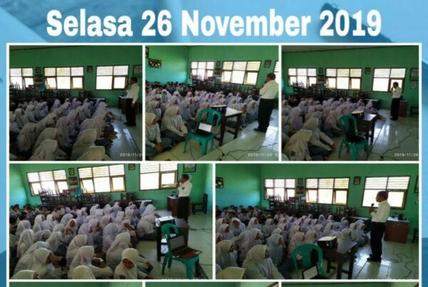 BNNK Sumbawa Barat Berikan Sosialisasi P4GN di SMAN 1 Seteluk