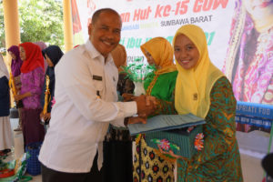 Hadiri HUT GOW KSB Ke-15, Kepala BNNK Sumbawa Barat Sangat Apresiasi Dukungan GOW KSB