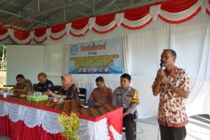 Kepala BNNK Sumbawa Barat Berikan Sosialisasi P4GN di SMPN 6 Seteluk.